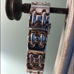 Jewelry - Sterling silver ..... chain link bracelet